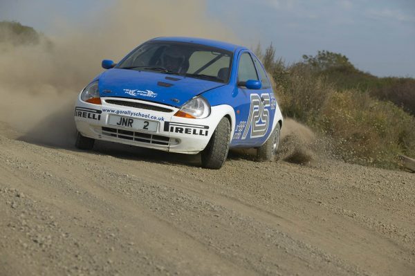 Chris Birkbeck Junior Rally School Ford Ka Rally Experience