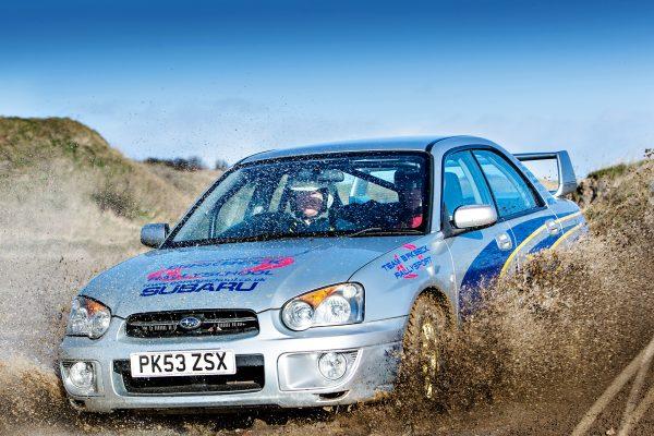 Chris Birkbeck Rally School Subaru Impreza Rally Experience
